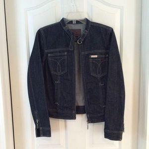 Calvin Klein Jeans banded collar jacket